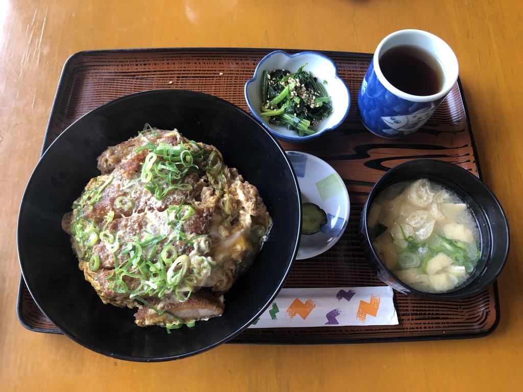 かつ丼定食(750円)